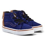 Vans Navy TD SK8-Hi Zip MTE Blue Depths Shoes