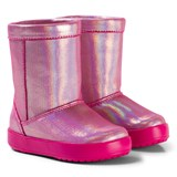 Crocs Kids Candy Pink LodgePoint Novelty Boots