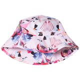 Molo Pink and Purple Nadia Sun Hats Mirror Birds