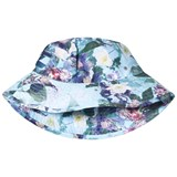 Molo Purple and Blue Nadia Sun Hat Aquar Flowers