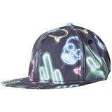 Molo Green Blue and Black Big Shadow Hat Neon Signs