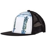 Molo White Blue and Black Big Shadow JR Hat Longboards