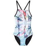 Molo Pink and Purple Neda Reflection Swimsuit