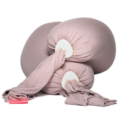 bbhugme Dusty Pink Pregnancy Pillow