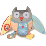 Skip Hop Grey And Pastel Treetop Friends Toy Owl