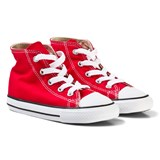Converse Red Chuck Taylor All Star High Top Trainers