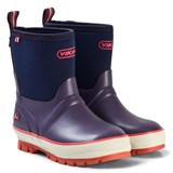 Viking Purple Two-Tone Wellington Boots