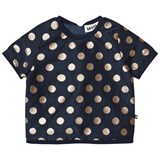 Molo Black Raisi Golden Dots T-Shirt