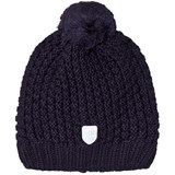 Ticket To Heaven Purple Bobble Knitted Hat