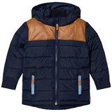 eBBe Kids Deep Lake Blue Quilted Parka