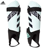 adidas Performance Green and Black Messi 10 Shin Guards