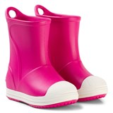 Crocs Kids Candy Pink Bump It Boots