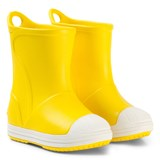 Crocs Kids Yellow Bump It Boots