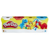 Play-Doh 4-Pack of White, Red, Yellow and Blue Play-Doh
