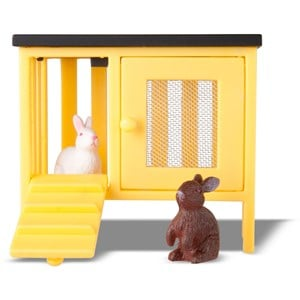Lundby Dolls House Rabbit and Cage 3 - 10 years