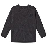 Acne Studios Grey Charcoal Melange Mini Neve Cardigan