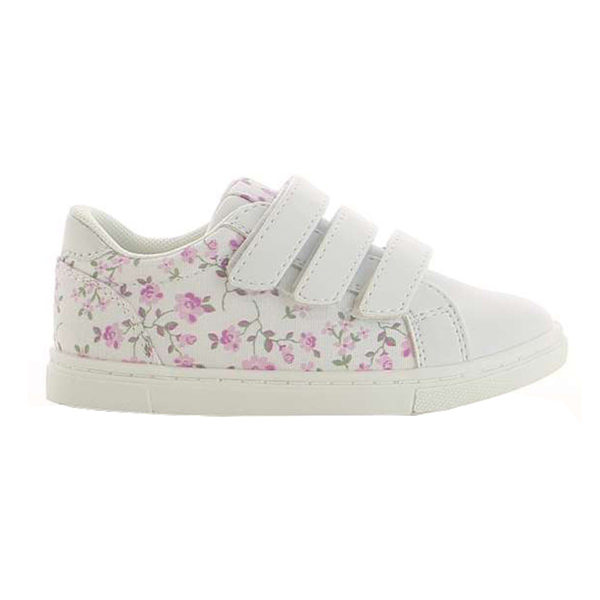 Kuling White Floral Sneakers