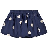 Mini Rodini Navy Dot Woven Skirt