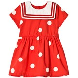 Mini Rodini Red Dot Woven Sailor Dress