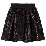 How To Kiss A Frog Black Sequin Skirt