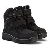 Kuling Black Soft Shell Waterproof Winter Boots