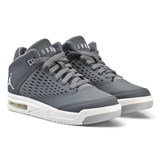 Air Jordan Grey Jordan Flight Origin 4 Junior Trainers