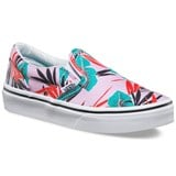 Vans Tropical Leaves Print Slip-On Sneakers