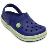 Crocs Kids Tofflor, Crocband, Curlean Blue/Volt