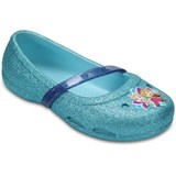 Crocs Kids Ballerina, Lina, Frozen, Ice Blue