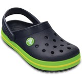 Crocs Kids Tofflor, Kids Crocband, Navy/Volt Green