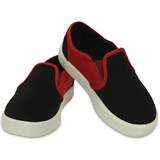 Crocs Kids Citilane Slip-On, Sneakers, Black/Pepper
