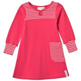 Geggamoja Pocket Dress Raspberry/l.pink