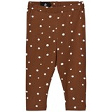 One We Like Brown Dots Leggings