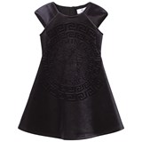 Young Versace Dress Black Blue