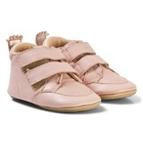 Easy Peasy Pink Leather Izi V Velcro First Walker Shoes