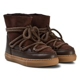 Inuikii Dark Brown Kids Classic Sneakers