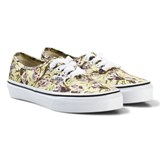 Vans Grey and Yellow Koala Print Vans Shoes