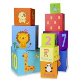 Classic World 10 Piece Stacking Cubes