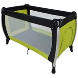Basson Baby Travel Cot Black/Green