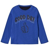 Stella McCartney Kids Electric Blue Coby Reversible T-Shirt