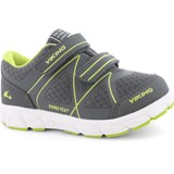 Viking Charcoal Grey And Lime Green GORE-TEX® Trainers