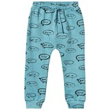 Soft Gallery Meo Sweat Pants Cameo Blue, AOP Shout