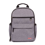 Skip Hop Heather Grey Duo Changing Backpack