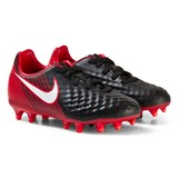 Nike Red and Black Magista Onda II Junior Firm Ground Football Boots
