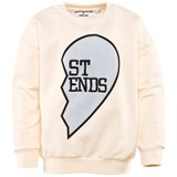 Gardner and The Gang Buddy Sweat shirt ST END Creme White