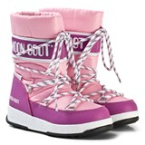 Moon Boot Moon Boot Pink and Fuchsia Snow Boot