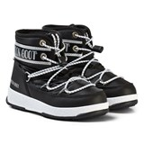 Moon Boot Mb We Jr Mid Wp Black-Silver