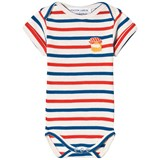 Maison Labiche White, Blue and Red Paddington Striped Body