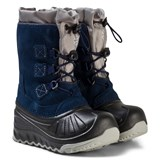 UGG Navy Ludvig Snow Boots with Shearling Lining