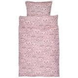 Soft Gallery Bed Linen Junior Coral, AOP Owl